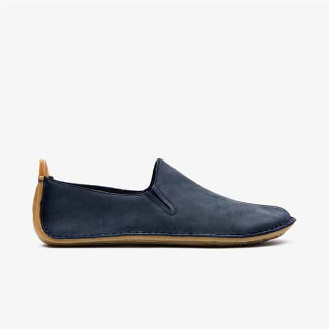 Ababa Leather Womens Navy