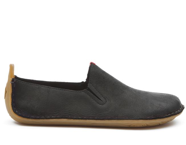 Ababa Leather Black Mens