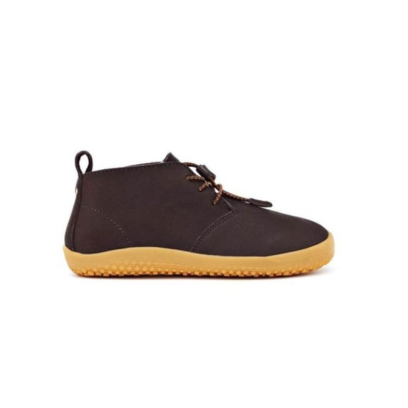 Gobi Kids Leather Brown
