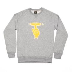 Flying Plate The Finger Terry Sweatshirt